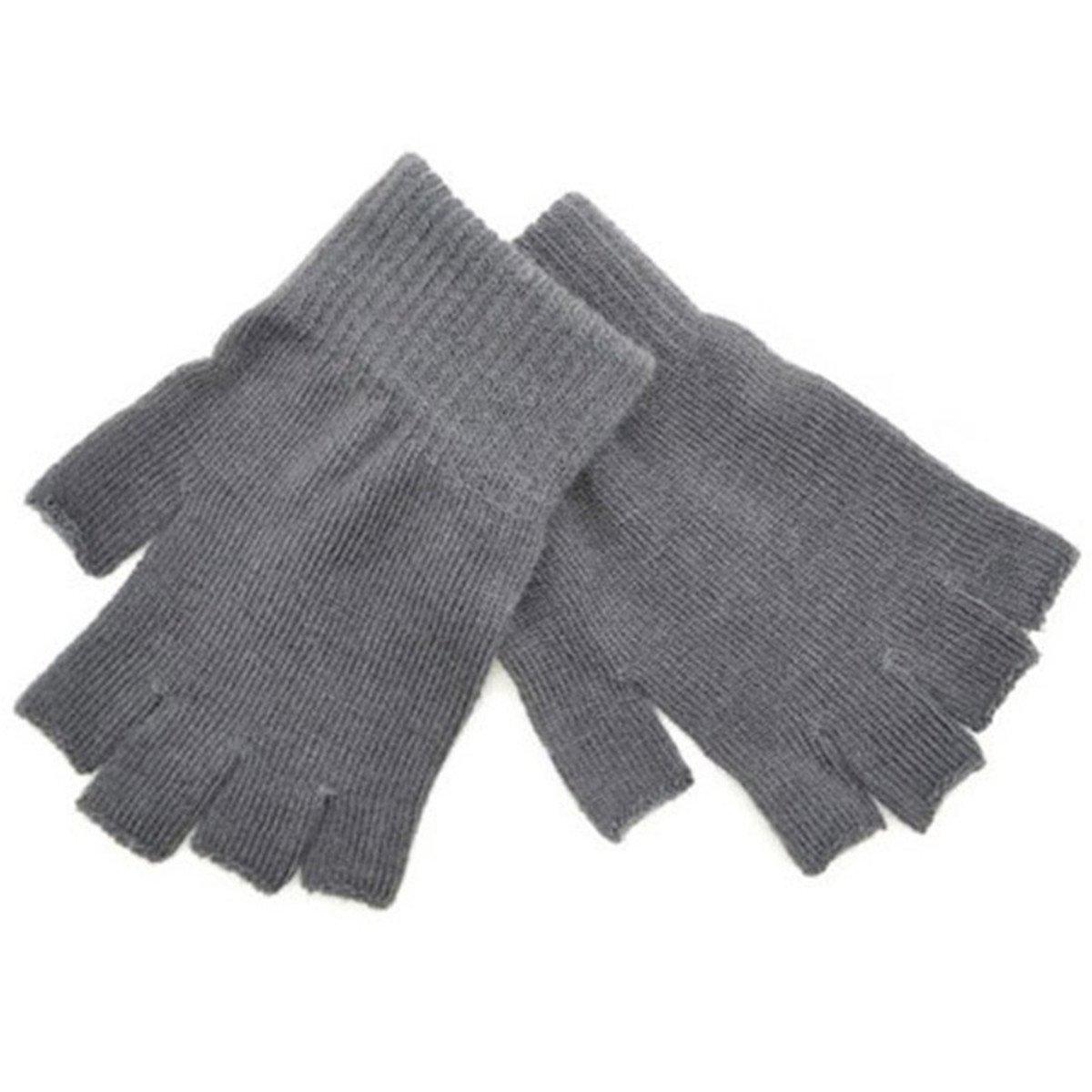 ECYC Guante De Mu/ñEca Sin Dedos Medio Dedo Sin Dedos Calor De Invierno