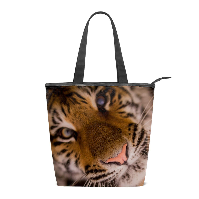 Hug A Couple Lion Tote Handbag Mini Single Crossbody Messenger Bag Long Strap Shopping Bag Pouch Women Canvas Shoulder Bag