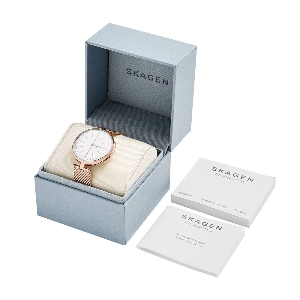 80f0486939941 Amazon.com  Skagen Women s Signatur T-Bar Quartz Watch with Stainless-Steel  Strap