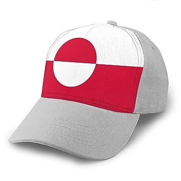 DeckrLP Gorra de béisbol Unisex con Bandera de Groenlandia ...