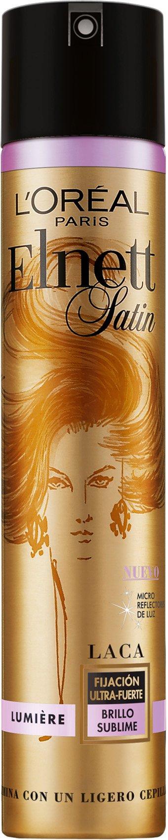 L'Oreal Paris Elnett Laca de Peinado Fijación fuerte Lumière