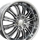 22x9 Wheel Fits GM Trucks & SUVs - Cadillac Escalade Style Chrome Rim, Hollander 5413