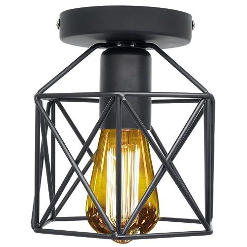 Industrial Light Fixtures Amazon: Vintage Ceiling Light Fixtures: Amazon.com