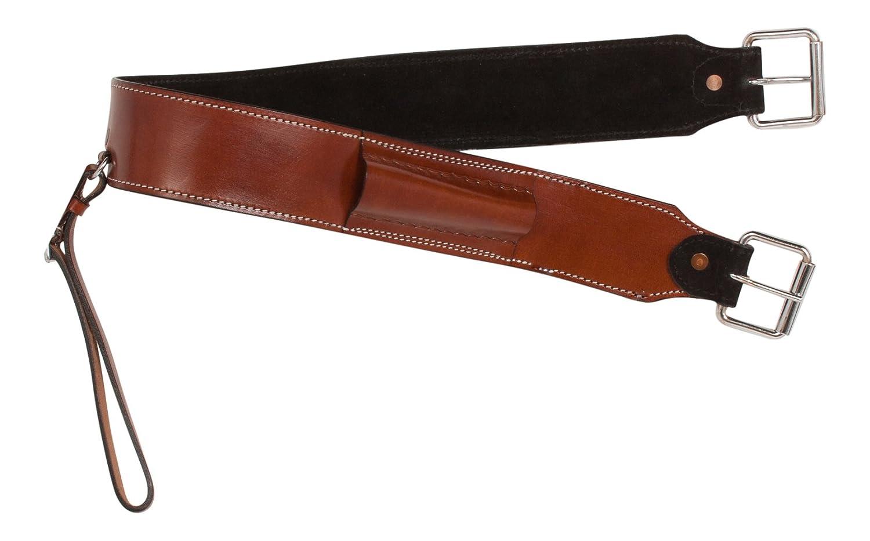 手工具Western Tanレザーサドルバック背面Cinch Cinch Flankストラップ Horse  B01J2O7LII