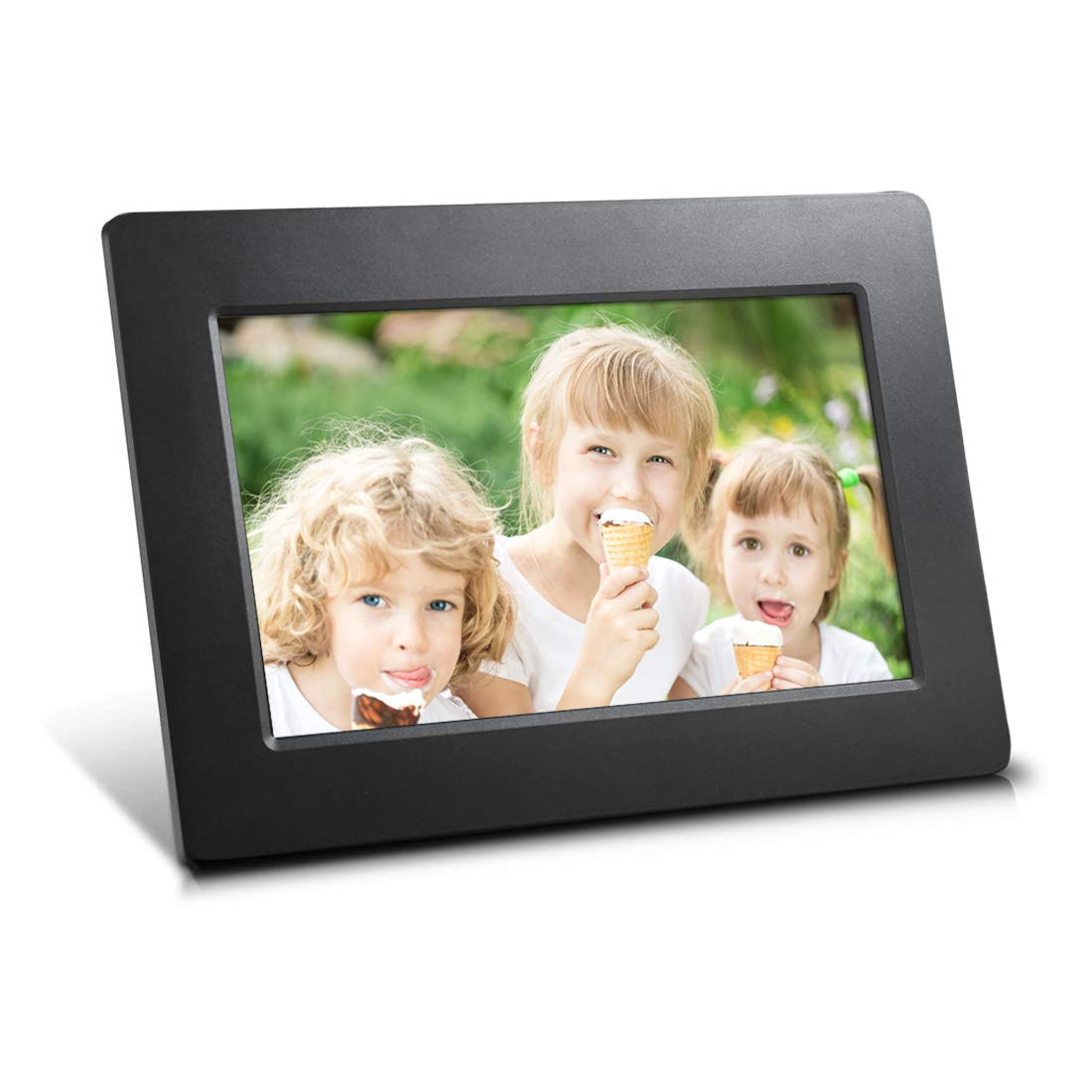 7-inch High Resolution Wide Screen 16:9 Ultra-Thin Digital Photo Frame, Plug and Play by Sungale