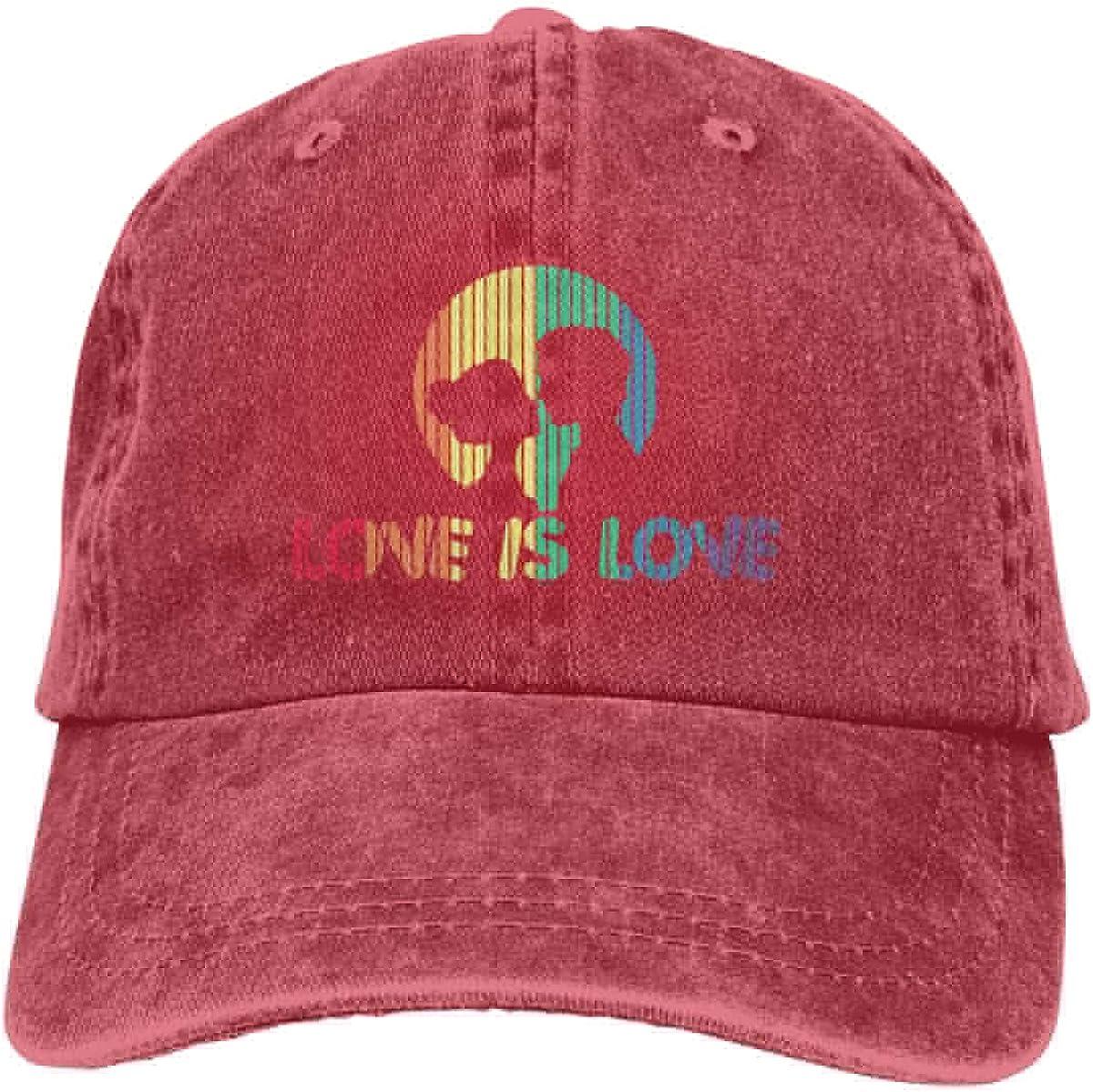 Adorable Love Unisex Trendy Jeans Sun Hat Adjustable Baseball Cap