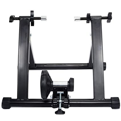 85bd94c7d8 Amazon.com : Goplus Portable Magnet Steel Bike/Bicycle Indoor Exercise  Trainer Stand : Sports & Outdoors