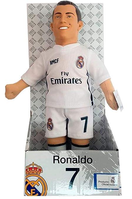 4db584f09ebc0 Muñeco RONALDO Real Madrid.C.F  Amazon.es  Juguetes y juegos