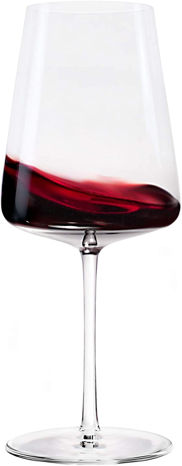 Stolzle Lausitz Power German Made Crystal Red Wine Glass, Set of 4