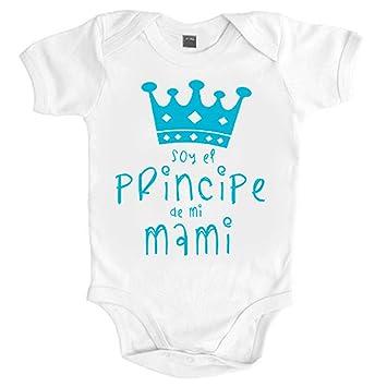 Body bebé Soy el principe de mi mami - Blanco, 6-12 meses ...