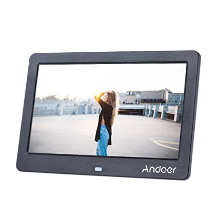 Amazon.com : Andoer 10 Inch Wide Screen HD LCD Digital Picture Frame ...