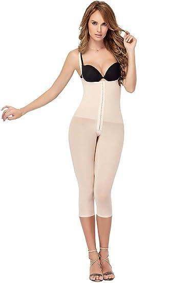 5c374dcc33 Body Shaper Colombia Comfort FIT Body MOLDING Full Body Capri a Cocoon Shapewear  Beige