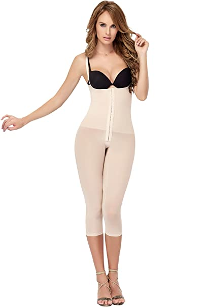 Cocoon Shaper Comfort Fit Body Molding Full Body Suit Capri