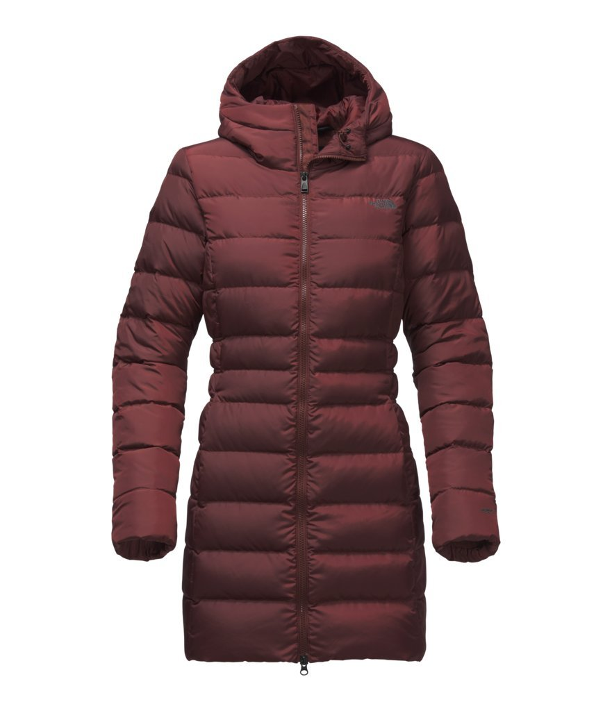 The North Face Women's Gotham Parka II - Sequoia Red - M (Past Season)
