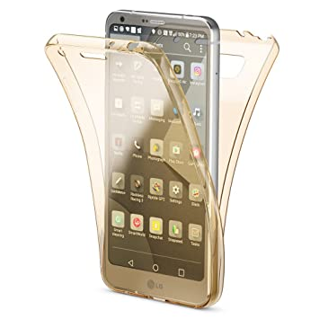 NALIA Funda Carcasa Protectora 360 Grados para LG G6, Movil Silicona Ultra-Fina Gel