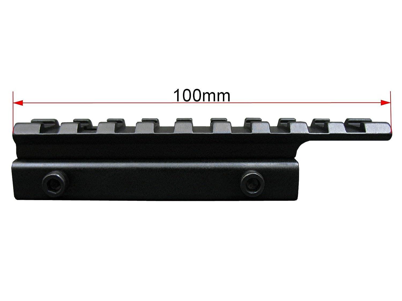 """1/"""" De Una Pieza 11mm Riel RSM11 Seben Montura Mira Telesc/ópica 25,4mm"""