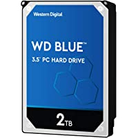"Western Digital WD20EZRZ - Disco Duro Interno WD Blue, 2TB, SATA III, 3.5"", 5400 RPM , color Metálico"