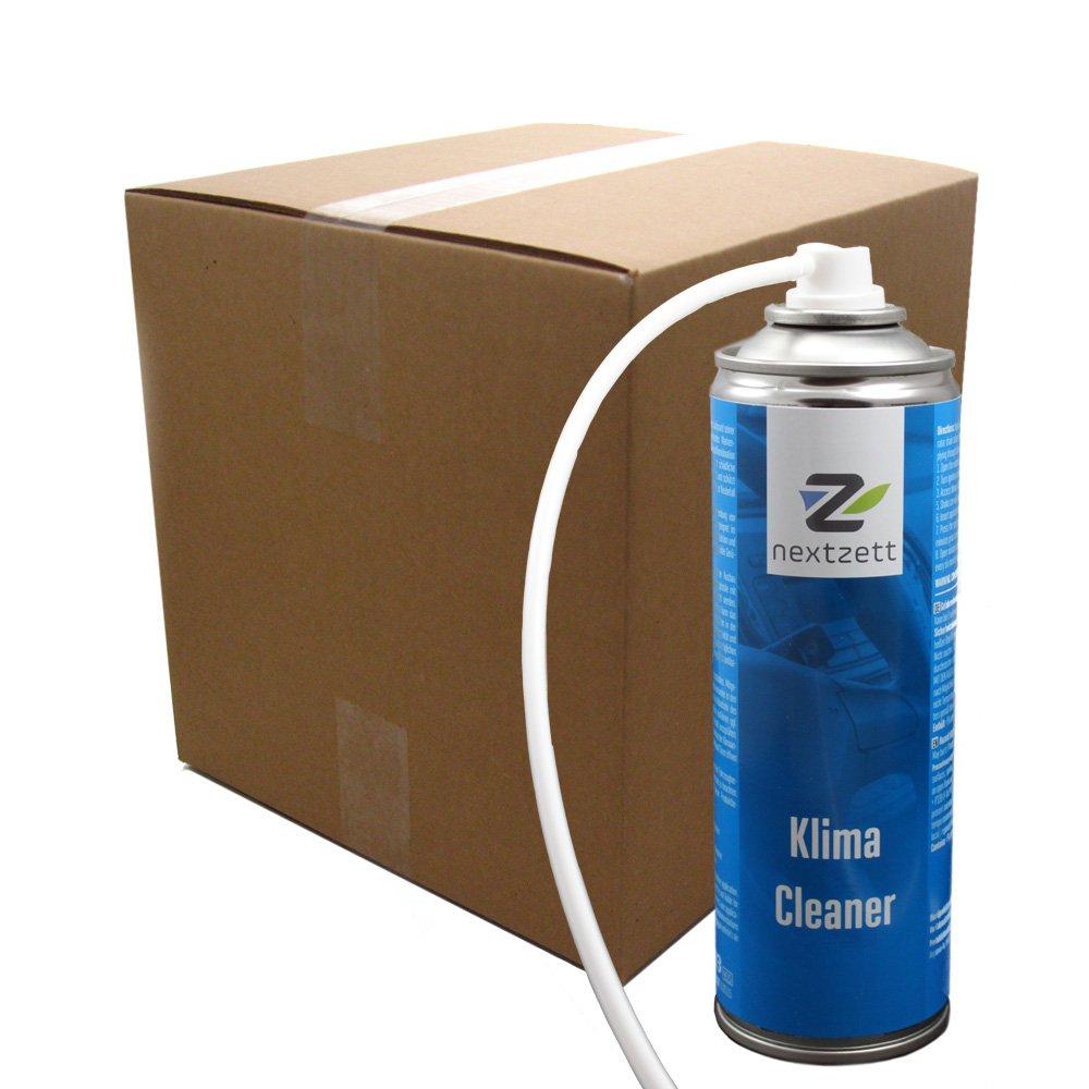 nextzett 96110615 Klima-Cleaner Air Conditioner Cleaner-10 fl oz, 10. Fluid_Ounces, 12 Pack by nextzett