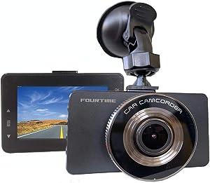 FORUTIME Dash Cam 1080P DVR Dashboard Camera Full HD 3
