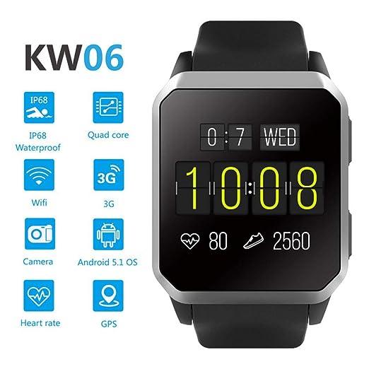 Meteor fire Sport Smartwatch GPS/WiFi/SIM Reloj con Monitor de ...