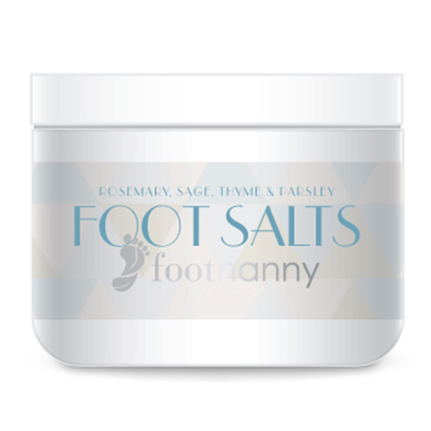 Footnanny - Parsley Sage Soaking Salts - Relieve Stress, Reduce Swelling, and Remove Impurities by Footnanny Beauty