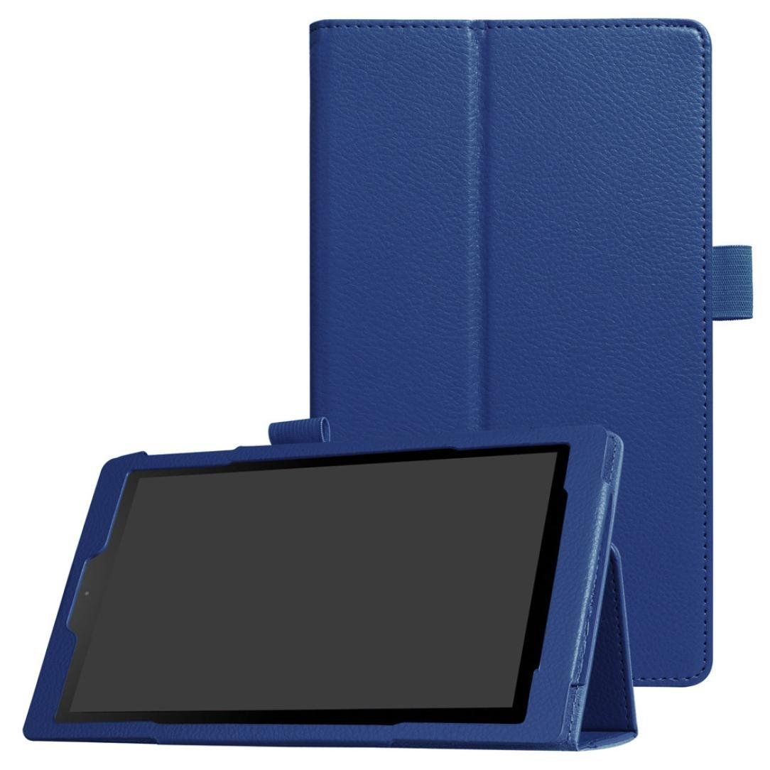 Case Amazon Fire HD 10 Tablet, Leather Slim Folding Stand Cover Fire HD 10.1 inch Tablet