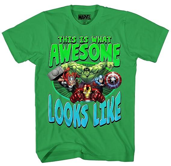 b9af451ad6 Amazon.com  Marvel Boys  Hulk T-Shirt  Clothing