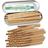 Scotte 40 Pre-Rolled Cones 1 1/4 Size Organic Cigarette Rolling Papers with Tips (78mm/3inch) (40)