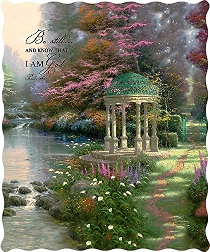 Duke Imports Thomas Kinkade Garden of Prayer Psalm 46:10