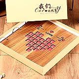 Wood diy album / handmade creative couple romance album this / album album / baby growth book ( Style : 6 )