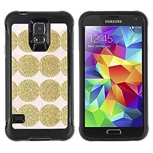 LASTONE PHONE CASE / Suave Silicona Caso Carcasa de Caucho Funda para Samsung Galaxy S5 SM-G900 / Shiny Pink Pattern Dot