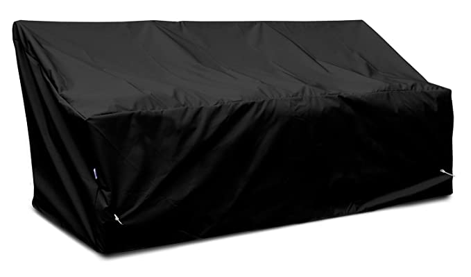 KoverRoos Weathermax 76450 Deep 3-Seat Glider/Lounge Cover, 89-Inch Width by 36-Inch Diameter by 33-Inch Height, Black