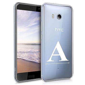 kwmobile Funda para HTC U11 - Carcasa de TPU para móvil y diseño ...
