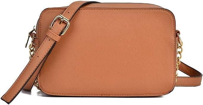 Des Bolso Bandolera Mujer Pequeño Bolso Bandolera Cuadrado Mujer Bolsos Cadena Cruzados Hombro Pequeños Bolso de Mano Cadena Crossbody Messenger Bag