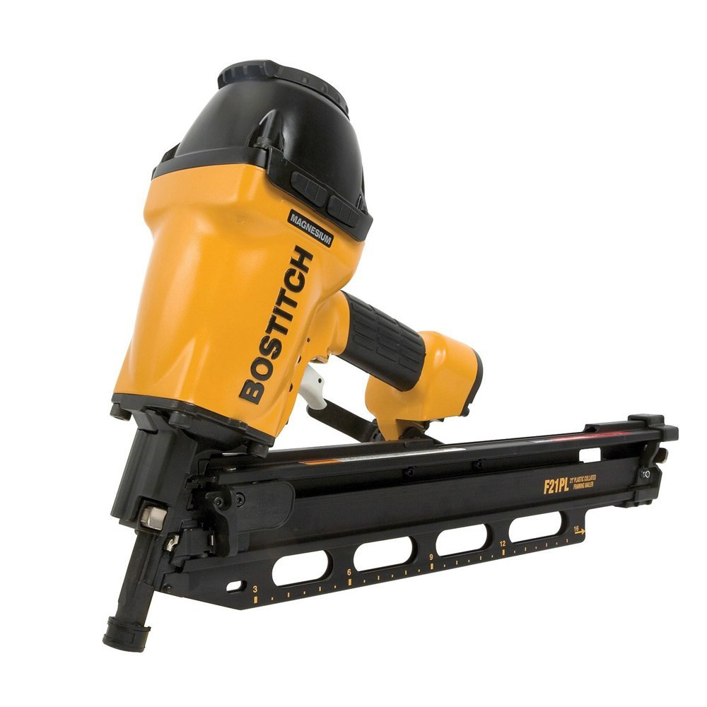 Bostitch F21PL2 - 21° Plastic Collated Framing Nailer - Power ...