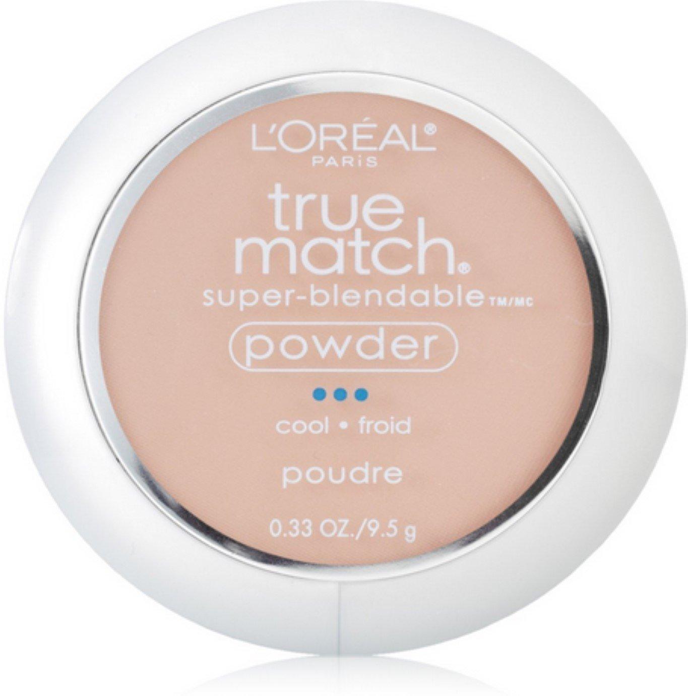 L'Oreal True Match Powder, Shell Beige [C4], 0.33 oz (Pack of 2)