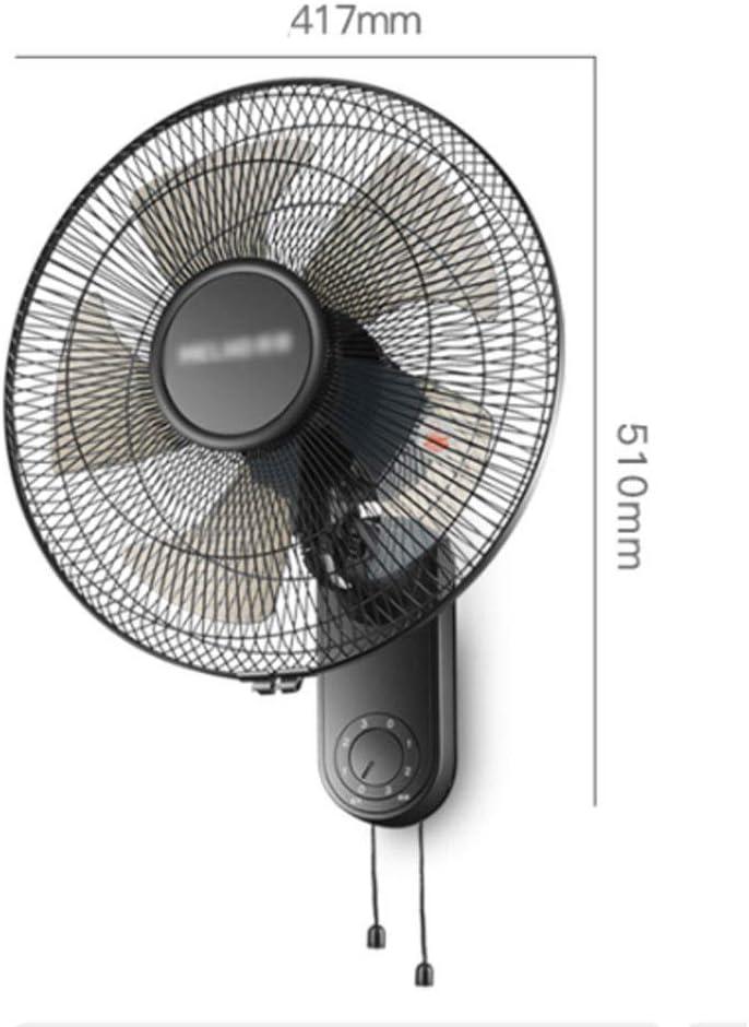 XINGZHE Ventilador de pared Ventilador eléctrico Hogar montado en ...