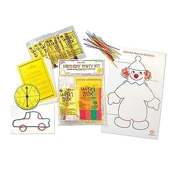 Amazoncom Wikki Stix Birthday Party Kit Toys Games