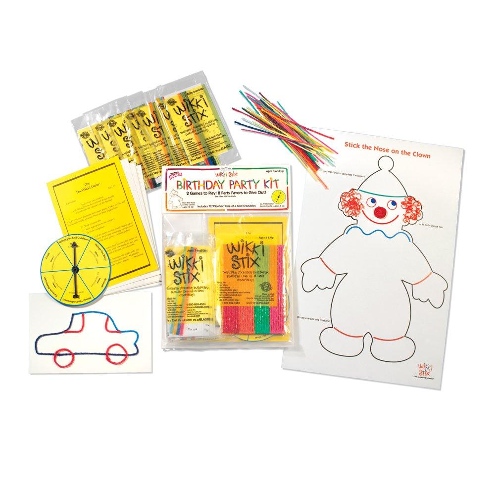 Wikki Stix Birthday Party Kit