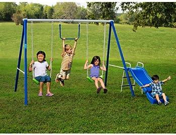Flexible Flyer 43568T Metal Swing Set