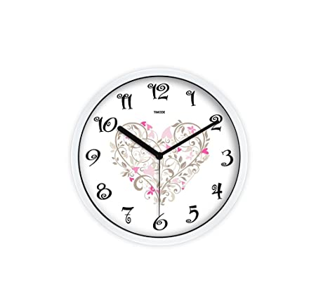 Amazon.de: Wall Clock Kunst Gravierte Muster Uhren Kreative ...