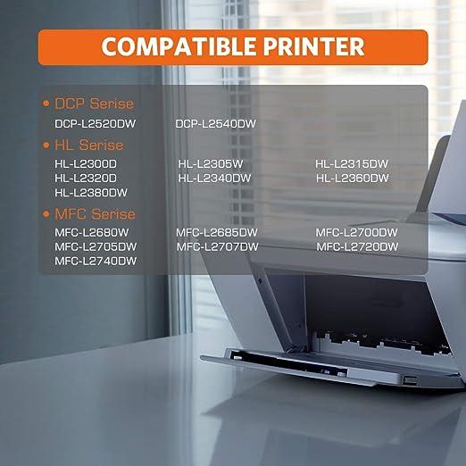 Amazon.com: e-coner Brother tn630 TN660 compatible cartucho ...