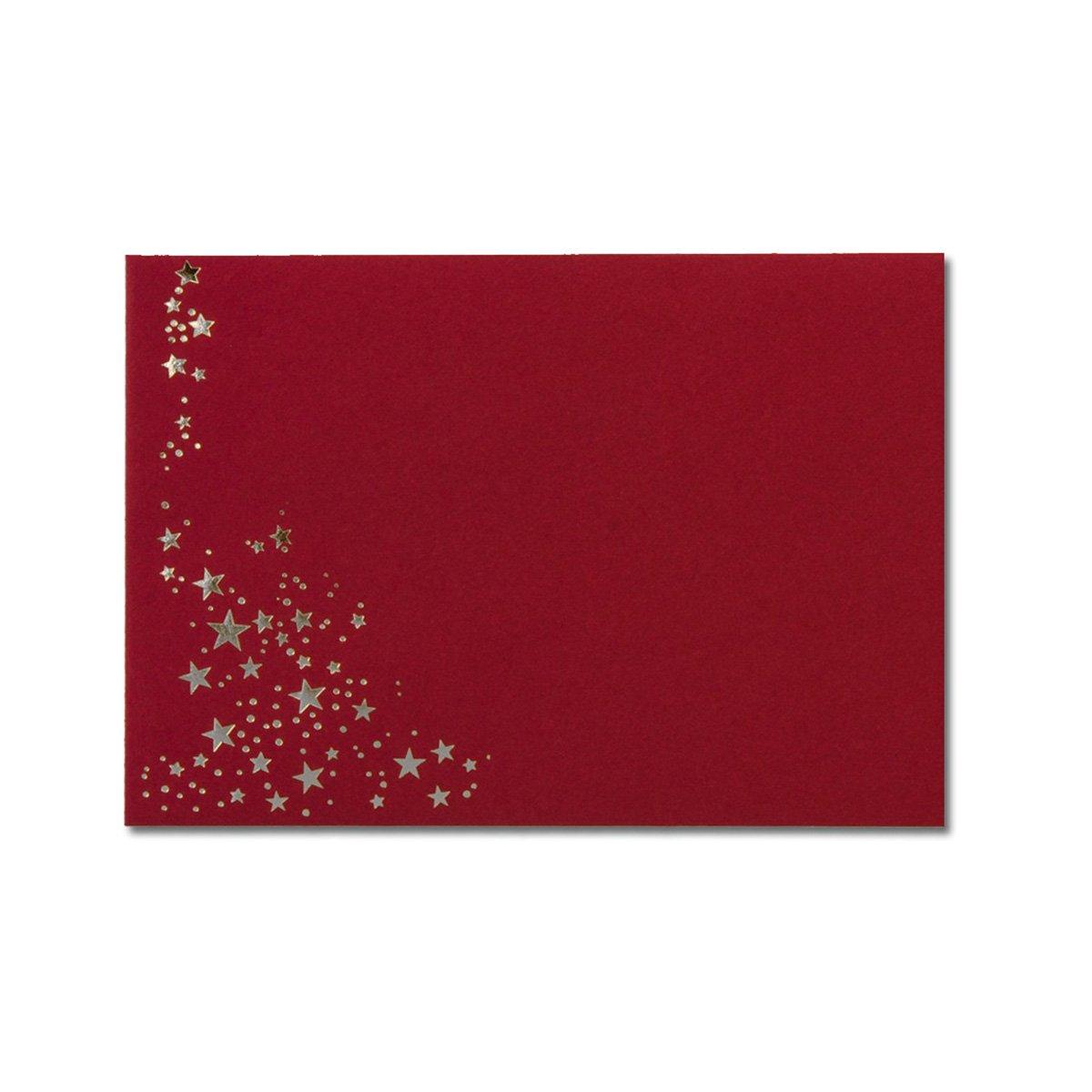 300x Weihnachts-Briefumschläge   DIN C6 C6 C6   mit Gold-Metallic geprägtem Sternenregen  Farbe  Sandbraun  Nassklebung, 120 g m²   114 x 162 mm   Marke  GUSTAV NEUSER® B07CHK1Z74   Zuverlässige Qualität    Auktion    Bekannt für seine gute f7272d