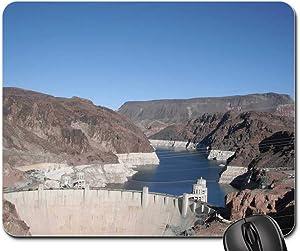 Mouse Pad - Boulder Dam Las Vegas Nevada Hoover Dam Dam