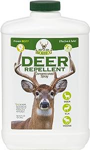 Concentrated Deer Repellent - Bobbex | Deer, Elk, and Moose Deterrent Concentrate (32 oz.) B550100