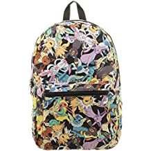 bioWorld Pokemon Eevee Evolution Toss Print Sublimated Backpack