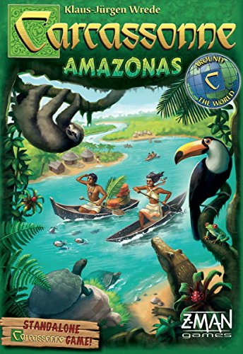 Carcassonne Game (Carcassonne Amazonas Board Game)