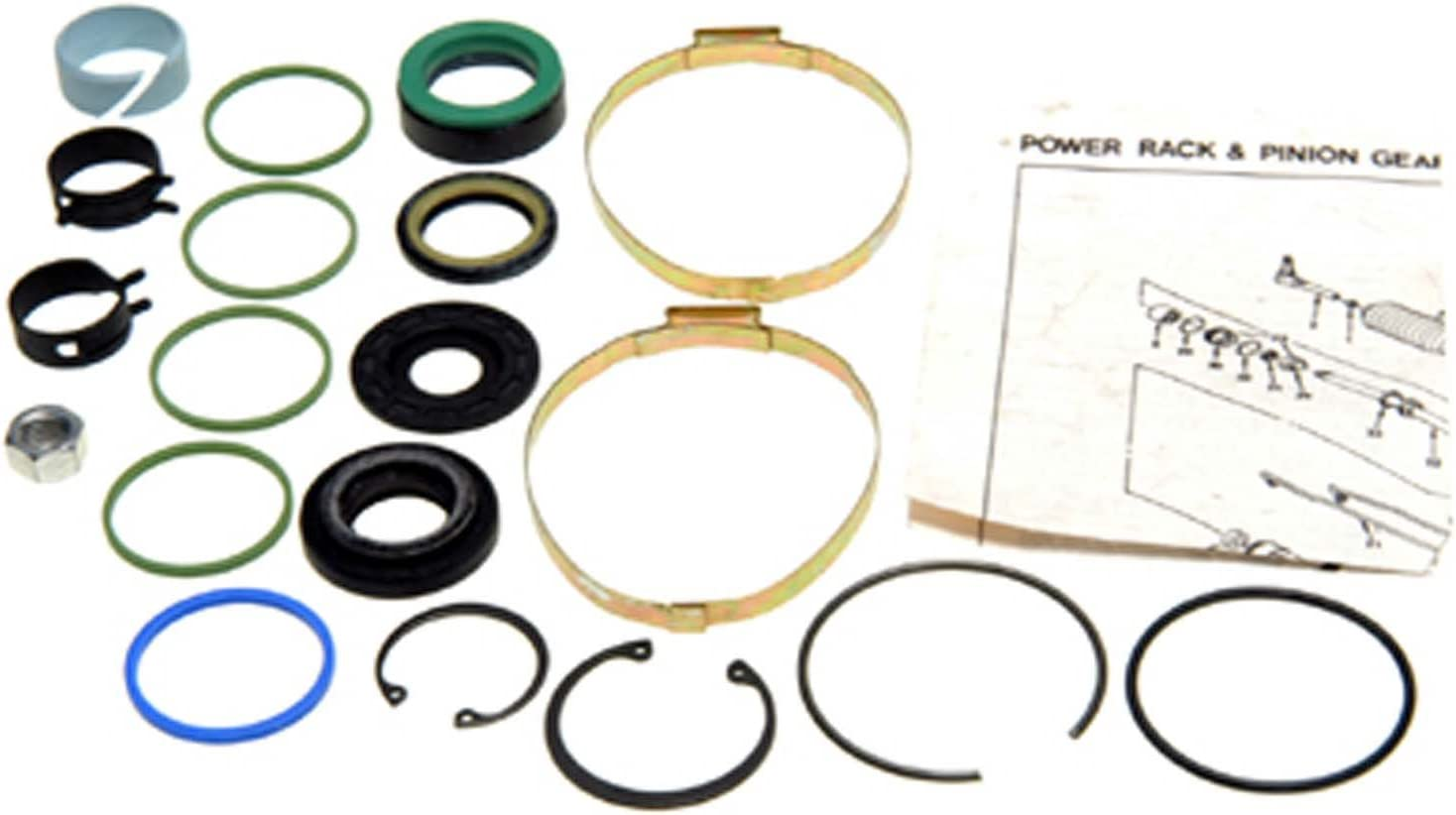 Edelmann 8570 Power Steering Rack and Pinion Seal Kit