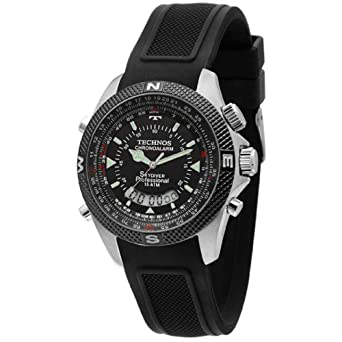 6b6b3c16bc6 Relógio Masculino Technos Anadigi T205FH 8P  Amazon.com.br  Amazon Moda