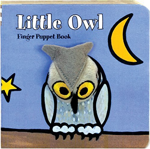 Little Owl: Finger Puppet Book (Little Finger Puppet Board Books) by ImageBooks (2011-08-03)